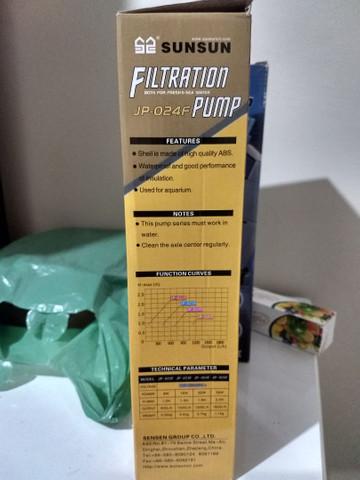 Filtro sunsun e UV para aquário - Foto 3