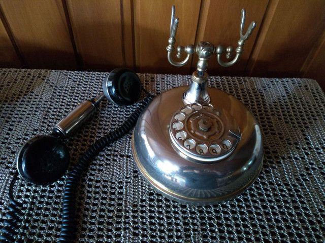 Raríssimo !!! Telefone americano anos 50 funcionando !!! - Foto 2