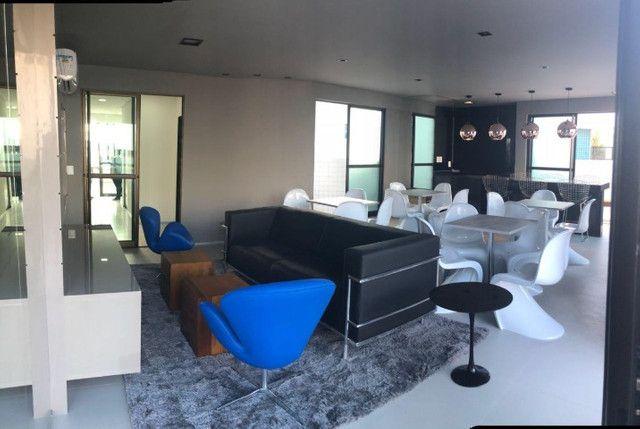 O Amplo 3/4 Varanda Novo/Pronto +DPE Com 109 m² Moderno-Melhor Localização da Jatiuca - Foto 5