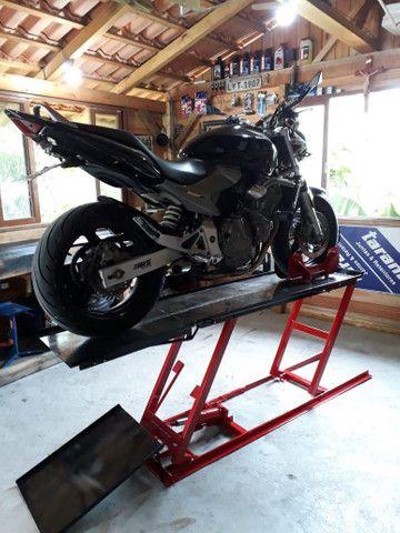 Elevador de motos de  fabrica 350 kg - zap 24horas deixe seu número  - Foto 10