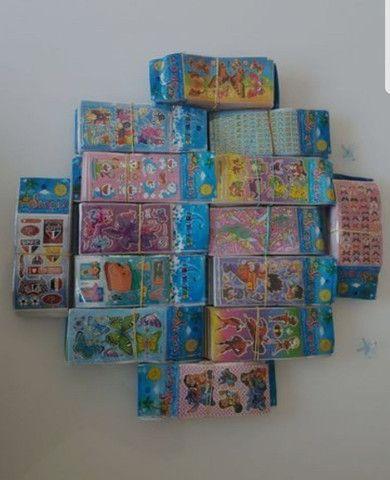 Adesivos Kit 60 cartelas R$18,90 - Foto 4