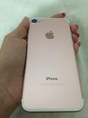 IPhone 7 rosé, sem marcas de uso - Foto 2