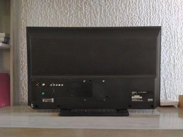 Vendo Tv Sony Bravia com defeito - Foto 2