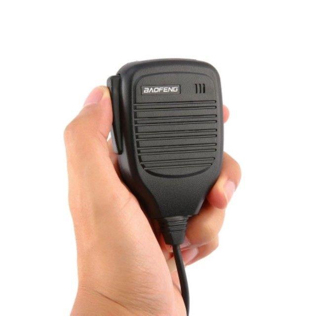 Ombro Rádio Alto-falante Microfone Para Baofeng 2 Pinos