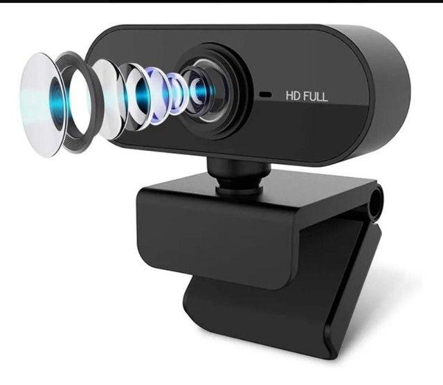 Câmera Webcam 1080p Com Microfone - Foto 3