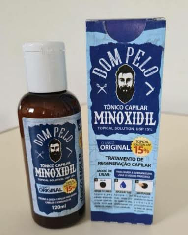 MINOXIDIL revendedor autorizado Dom Pelo. Barba, cabelo e sobrancelhas. - Foto 2