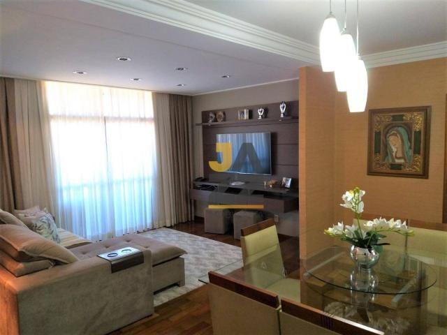 Apartamento completo com 3 dormitórios à venda no condomínio Castro Alves, 140 m² por R$ 9 - Foto 3
