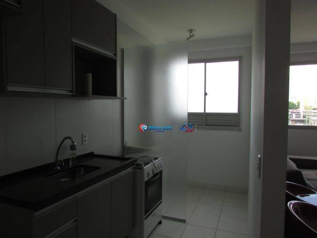 Apartamento com 2 dormitórios para alugar, 50 m² por R$ 750,00/mês - Parque Yolanda (Nova  - Foto 4
