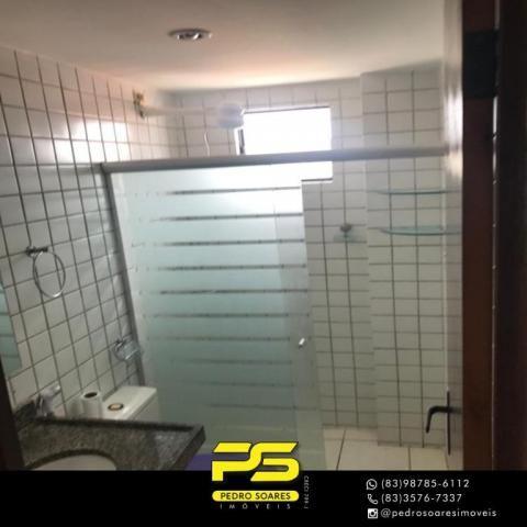 Apartamento com 3 dormitórios à venda, 90 m² por R$ 300.000 - Jardim Cidade Universitária  - Foto 8