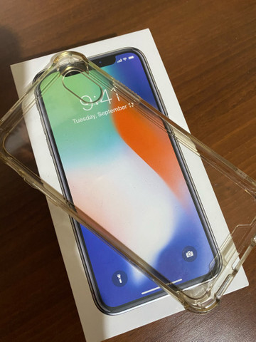 iPhone X Silver 256Gb - Foto 3