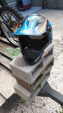 Capacete pro tork motocross - Foto 3