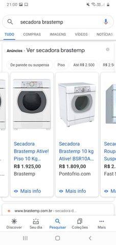 lava-roupas e secadoras - Foto 4