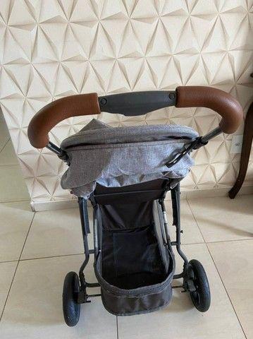 Carrinho de bebê - Moving light com couro - ABC design  - Foto 4