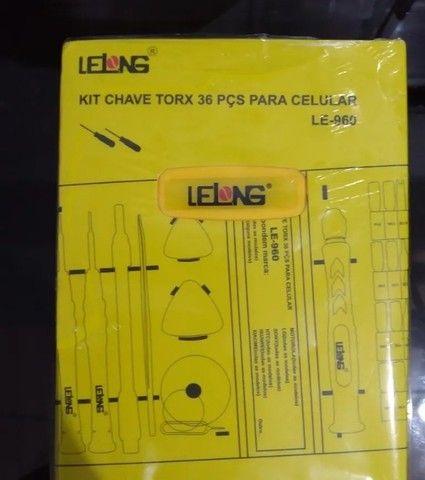 Kit Chave Torx 36pc Le-960 - Foto 2