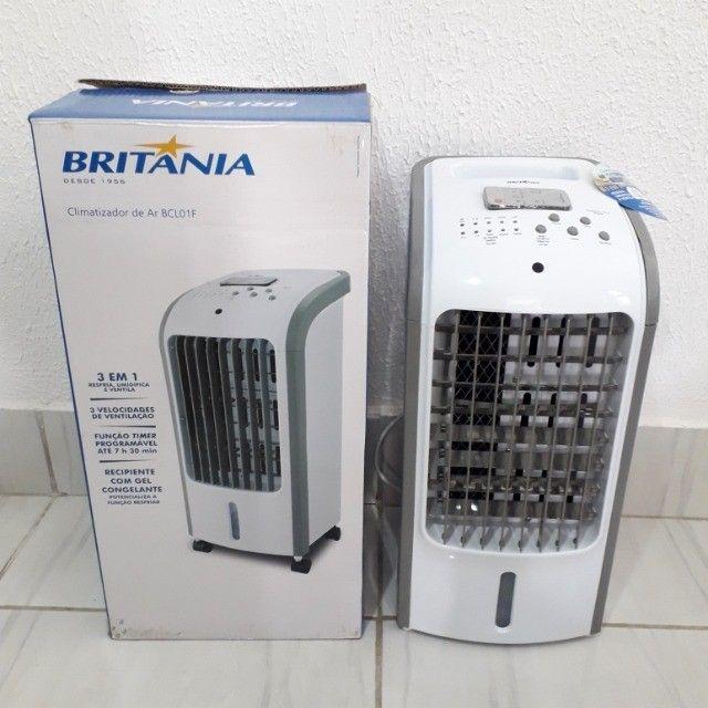 Climatizador de Ar com Controle - Na Caixa em Perfeito Estado