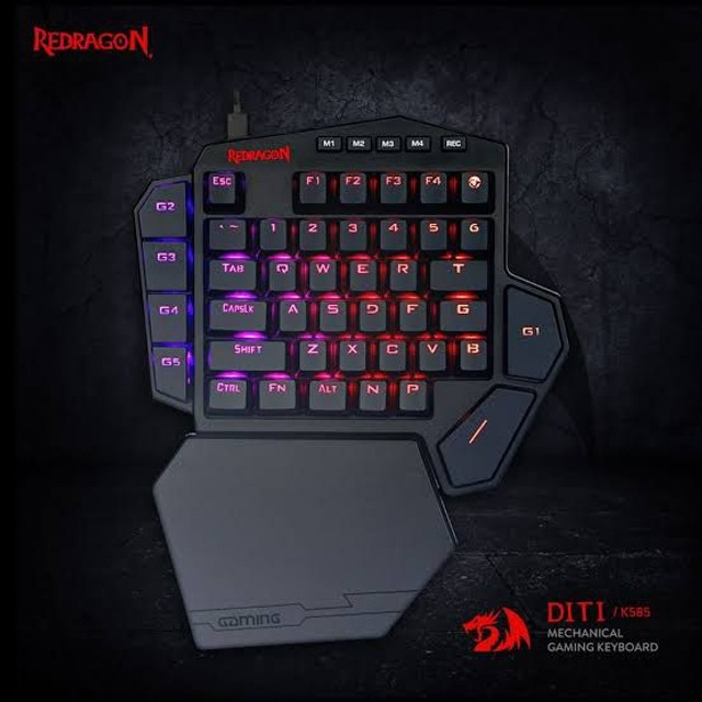 Kit mouse e teclado Redragon Gamer