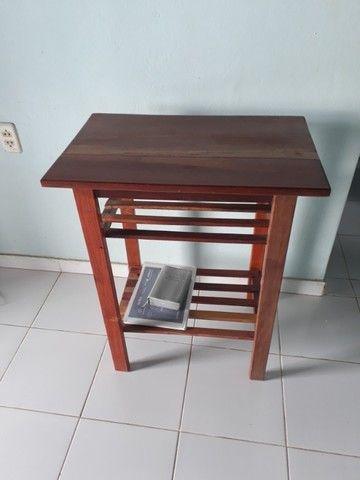 Mesinha de madeira  - Foto 2