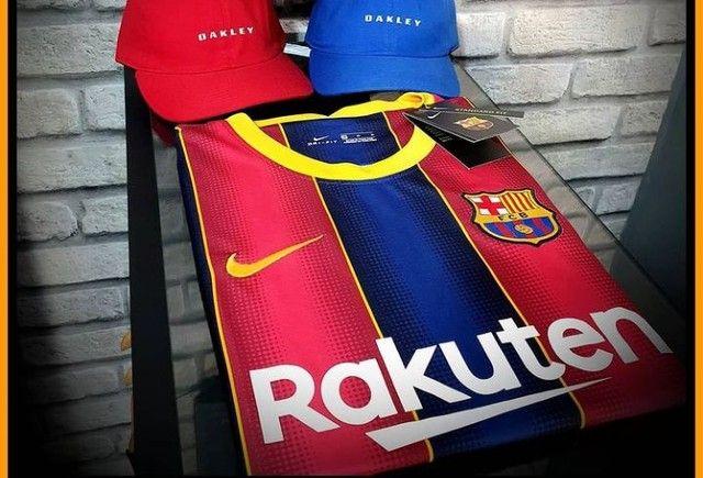 Camisa primeira linha do Barcelona