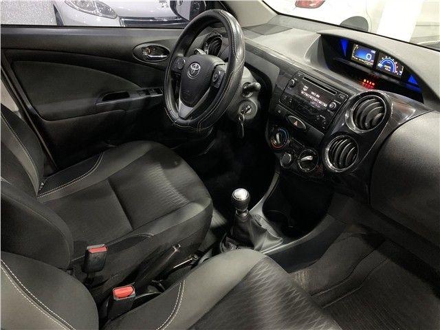 Toyota Etios 2018 1.5 xs sedan 16v flex 4p manual - Foto 9