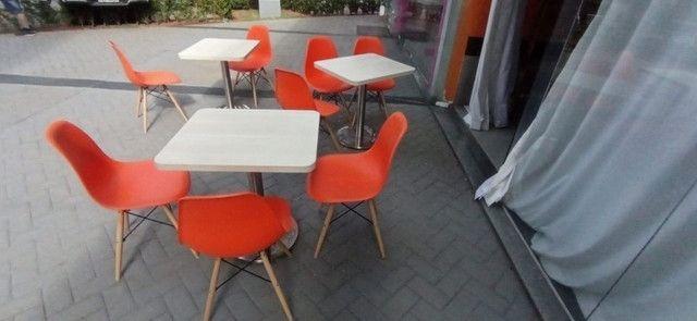 Mesas e cadeiras para lanchonete  - Foto 4
