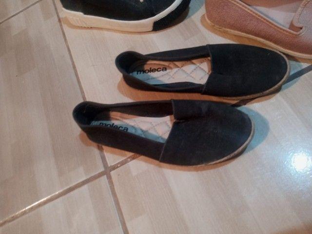 Vendo lote de calçados femininos!! Em ótimo estado - Foto 2