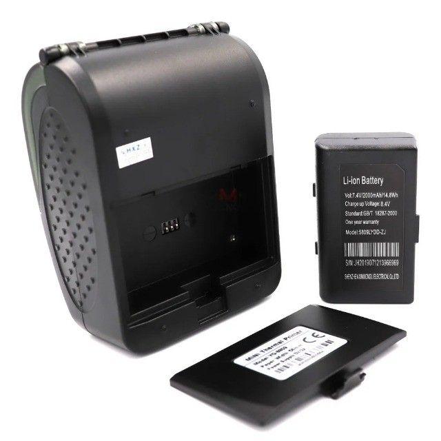 Impressora Térmica Cupom Fiscal Comprovante Bluetooth Celular Computador Pc Android iOs - Foto 3