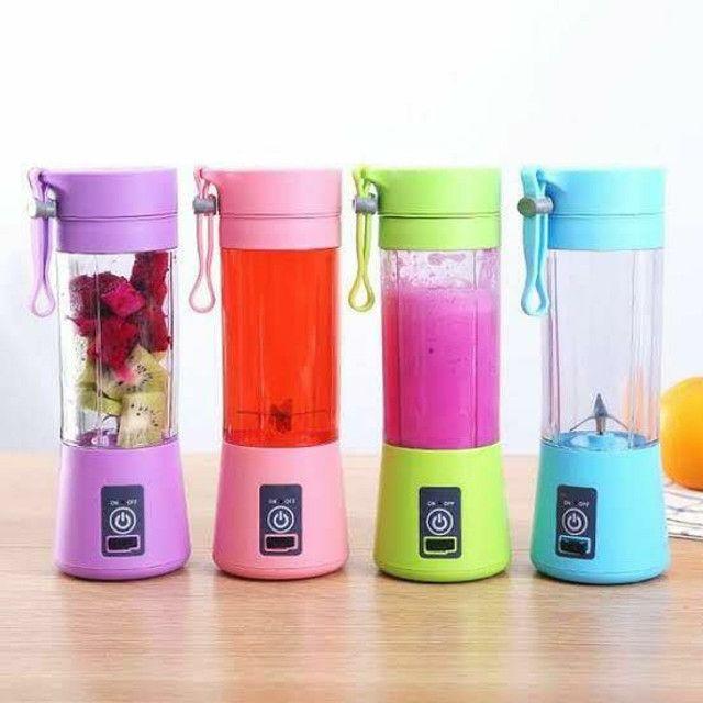 Mini Liquidificador Portátil Juice Cup 6 laminas