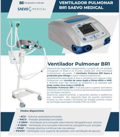 Ventilador Pulmonar BR1 Saevo Medical - Respirador (Pronta Entrega) - Foto 4