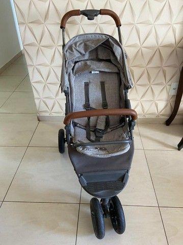 Carrinho de bebê - Moving light com couro - ABC design  - Foto 3