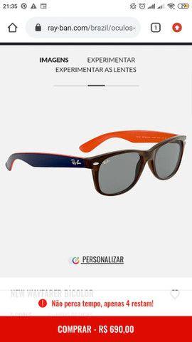 Óculos Rayban wayfarer - Foto 3