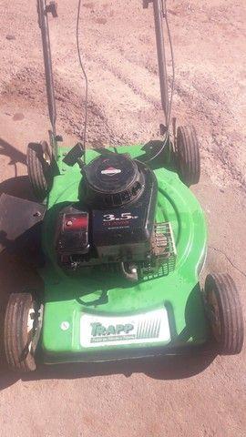 Cortador grama gasolina trapp revisado só no ponto de trabalhar.  - Foto 3