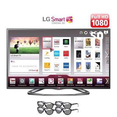 Smart tv led 50 lg nova