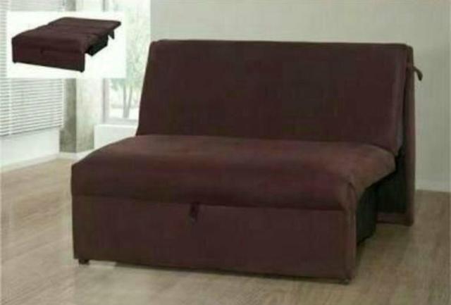 57bca4c77 Sofa cama malu sem braço casal   - oferta - menor preço do mercado ...
