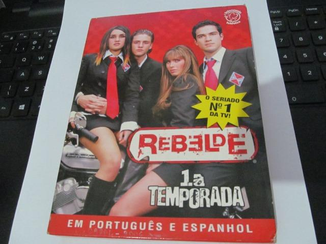 Dvds 1° e 2° temporda da Novela Rebelde - CDs, DVDs etc