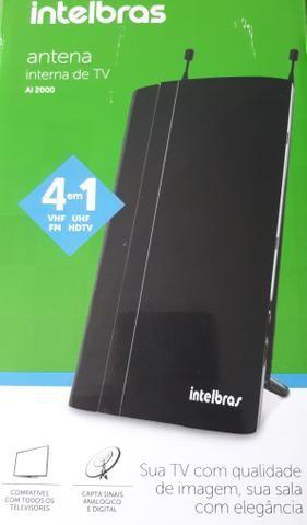 Antena interna de TV Intelbrás