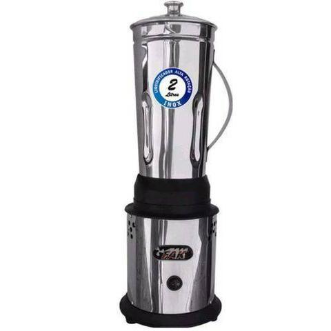 Liquidificador industrial aço inox 2 e 4 litros FAK