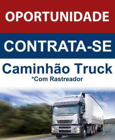 Contrata-se caminhão truck