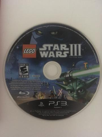 Jogo original PS3 Lego Star Wars 3
