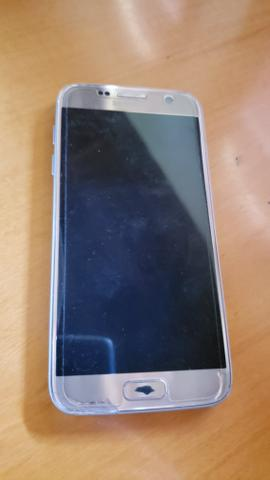 Samsung S7 Flat Dourado usado - Foto 3