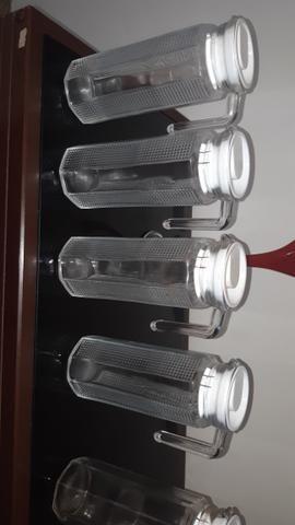 Vendo jarras suco de vidro