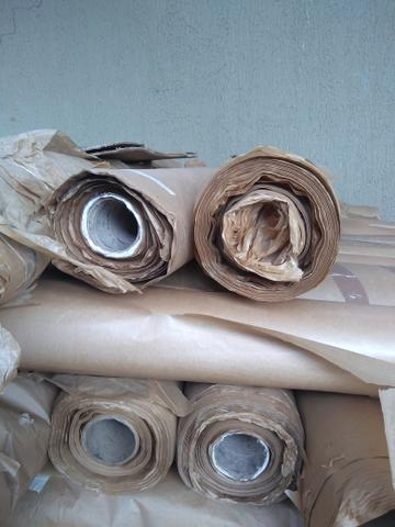 Papel Kraft para Funilaria, pintura, moldes, aviário. - Foto 2