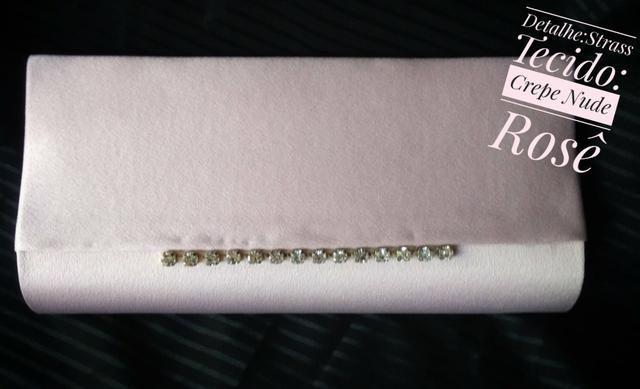 Bolsa feminina clutch luxo exclusiva