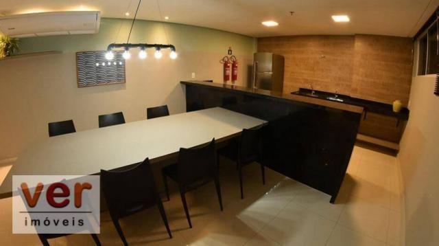 Apartamento com 2 dormitórios à venda, 52 m² por R$ 279.000,00 - Presidente Kennedy - Fort - Foto 9