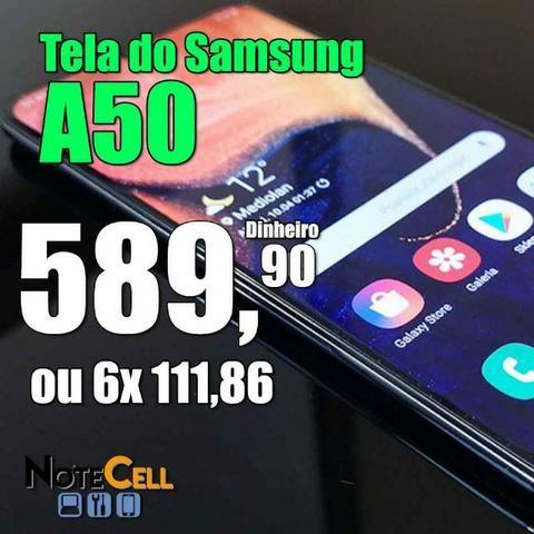 Tela do Samsung A50