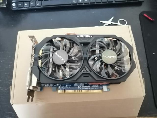 GTX 750ti 2gb Gigabyte Windforce