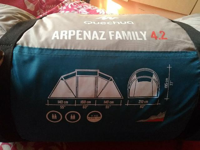 Barraca Arpenaz Family 4.2