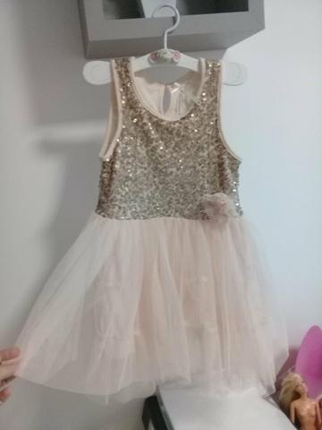 Vestido infantil para festa
