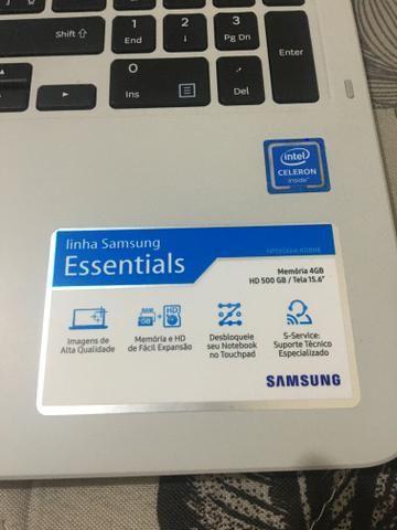 Notebook Samsung branco - Foto 3