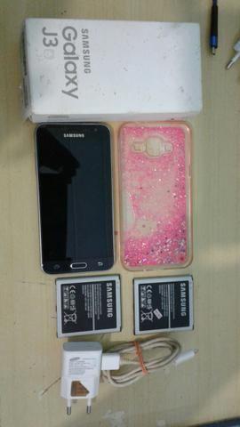 Celular Samsung J3 - PARCELO NO CARTÃO