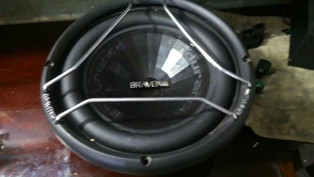 Sub woofer bravox E2k 12 polegada mais mega capacitor - Foto 4